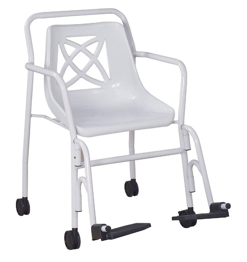 chaise de douche a roulettes moorea medic 39 home le bien tre la maison votre sp cialiste du. Black Bedroom Furniture Sets. Home Design Ideas